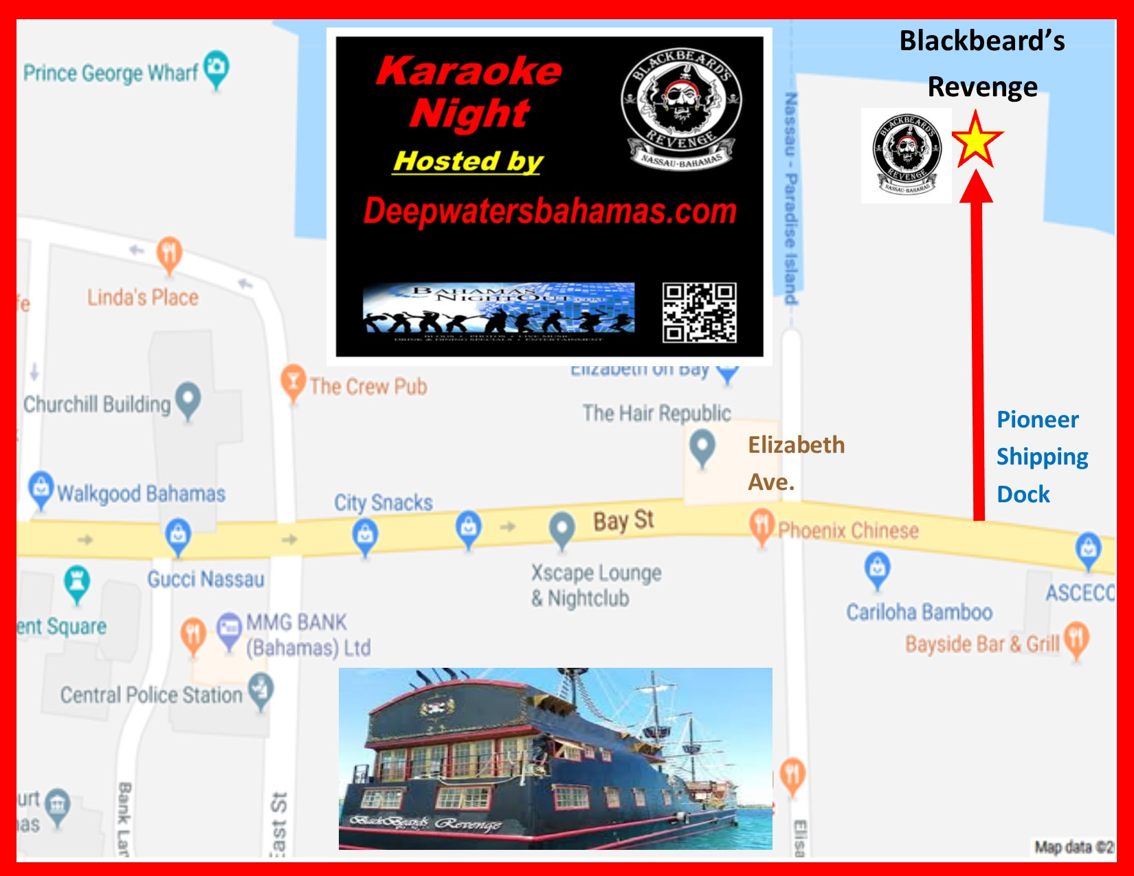 Karaoke Happy Hour FRIDAY at Blackbeard's Revenge